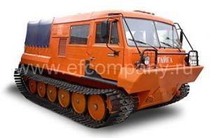 Гусеничный тягач ТТМ-3902 ГР