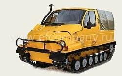 Снегоболотоход ГАЗ 34091 Бобр