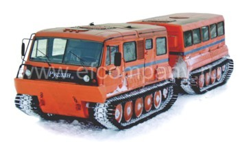 Двухзвенный снегоболотоход ТТМ-4901 ПС